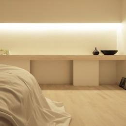 阿倍野の住宅 (寝室)