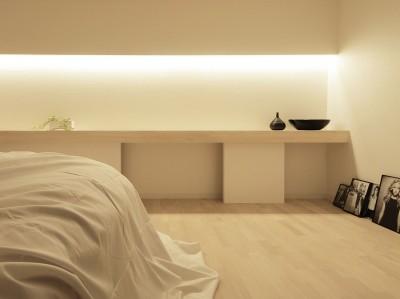 寝室 (阿倍野の住宅)