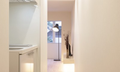 恵美須のゲストハウス (キッチン)