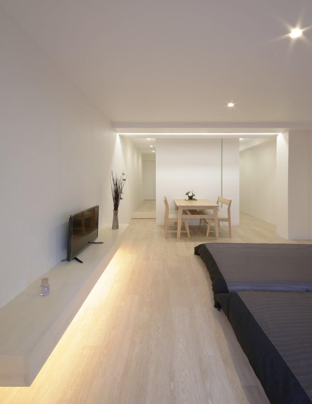 恵美須のゲストハウス (ベッドルーム)