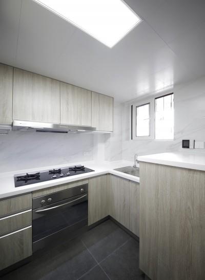 上海の住宅 (キッチン)