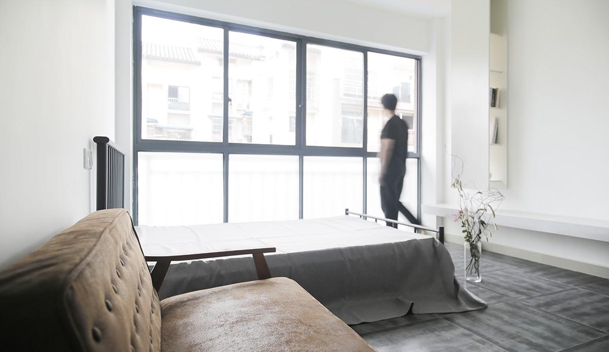 重慶の住宅 (寝室)
