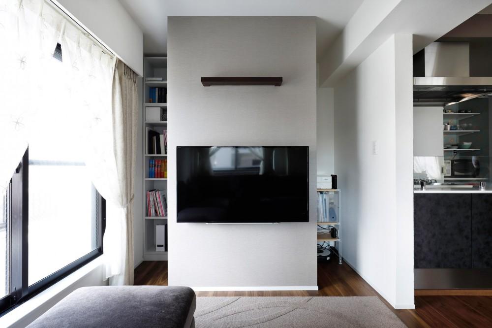インテリックス空間設計「一見シンプルな住まいながら、来客には見えないオシャレにもこだわった家。」