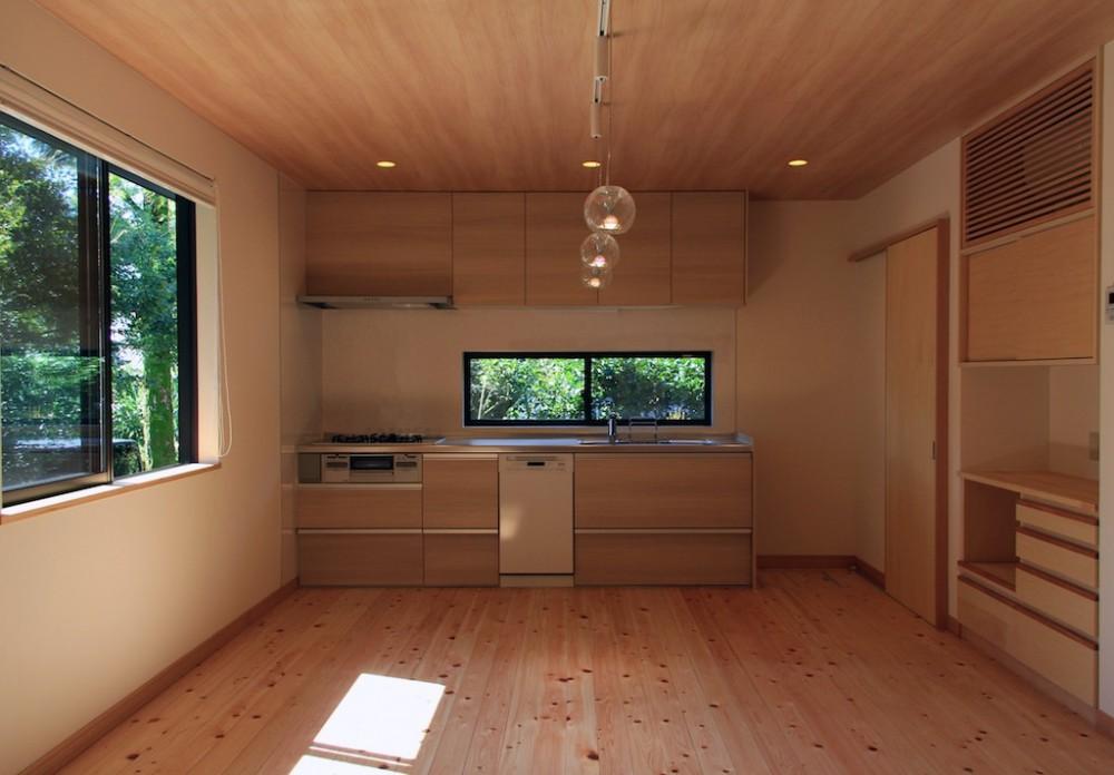 ダイニングキッチン (高森の家)