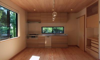 高森の家 (ダイニングキッチン)