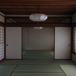 高森の家 (居間)