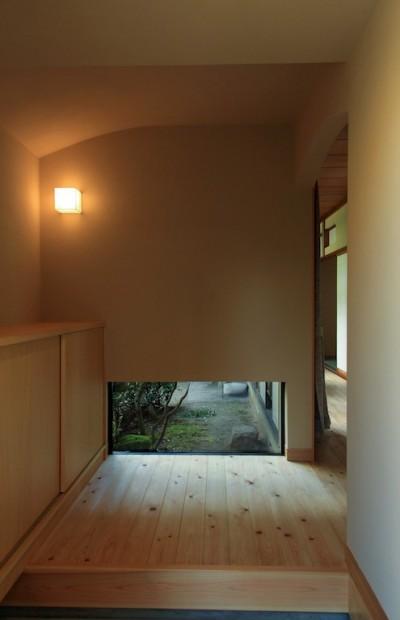 玄関 (高森の家)