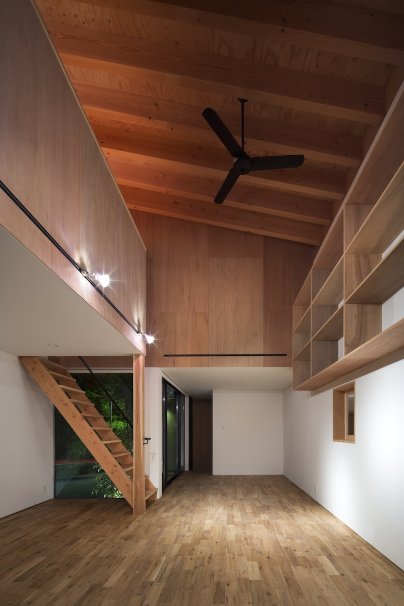 河内長野の家の部屋 リビング