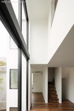 ハコノオウチ10 大窓の家 (2層吹抜の大窓)