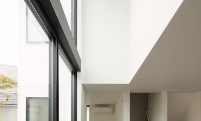2層吹抜の大窓|ハコノオウチ10 大窓の家