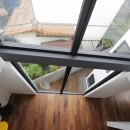ハコノオウチ10 大窓の家の写真 吹抜からの見下ろし
