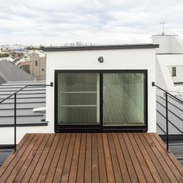 ハコノオウチ10 大窓の家 (屋上バルコニー)
