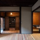 昭和小路の長屋 賃貸向け京町家のシンプルリノベーション【京都市】の写真 居間