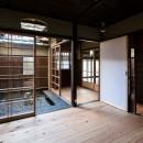 昭和小路の長屋|賃貸向け京町家のシンプルリノベーション【京都市】の写真 居間