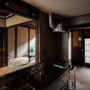 昭和小路の長屋|賃貸向け京町家のシンプルリノベーション【京都市】の写真 キッチン