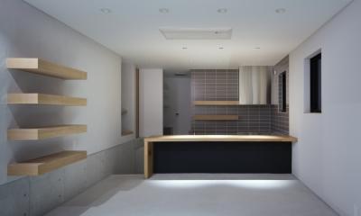 河内長野の家 (キッチン)