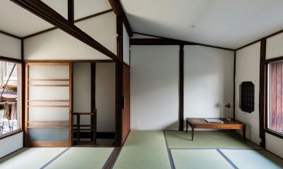 2階和室|昭和小路の長屋|賃貸向け京町家のシンプルリノベーション【京都市】