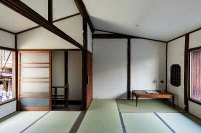 2階和室 (昭和小路の長屋|賃貸向け京町家のシンプルリノベーション【京都市】)