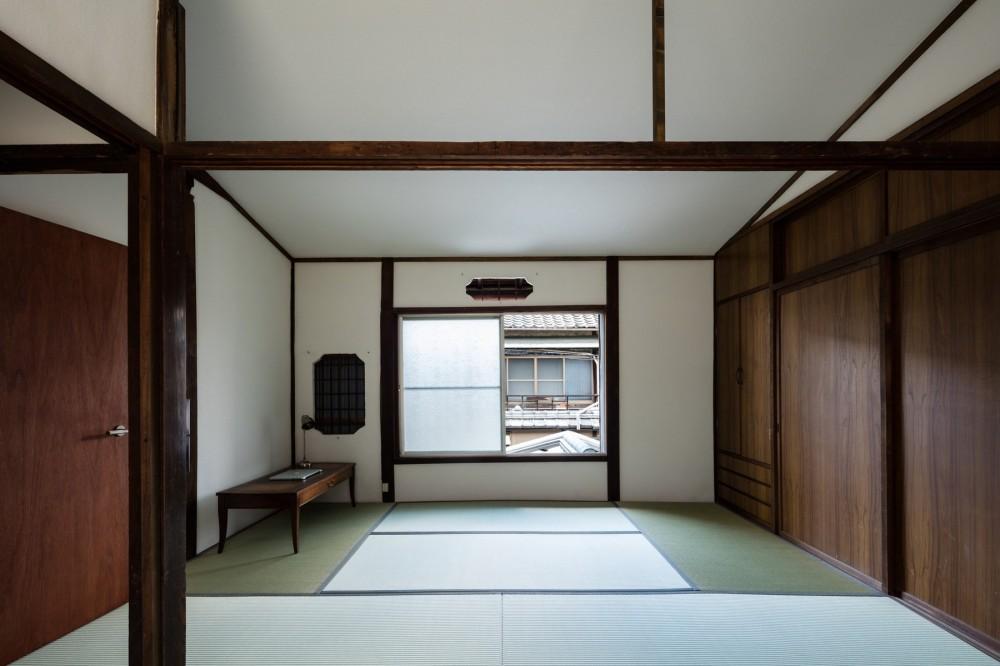 昭和小路の長屋|賃貸向け京町家のシンプルリノベーション【京都市】 (2階和室)