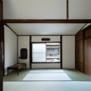 昭和小路の長屋 賃貸向け京町家のシンプルリノベーション【京都市】の写真 2階和室