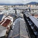 昭和小路の長屋 賃貸向け京町家のシンプルリノベーション【京都市】の写真 五条通り側からの見下ろし