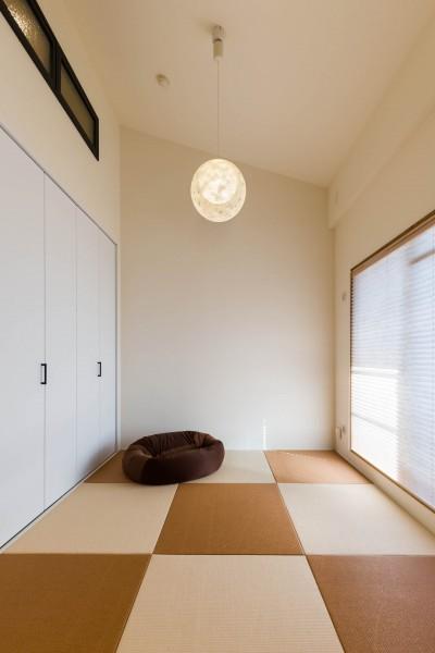 和室 (タテのひろがりヨコのつながり)