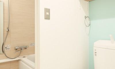 光を取り込む空間 (トイレ)