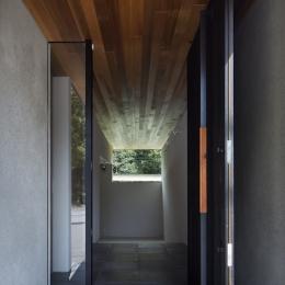 河内長野の家 (玄関)