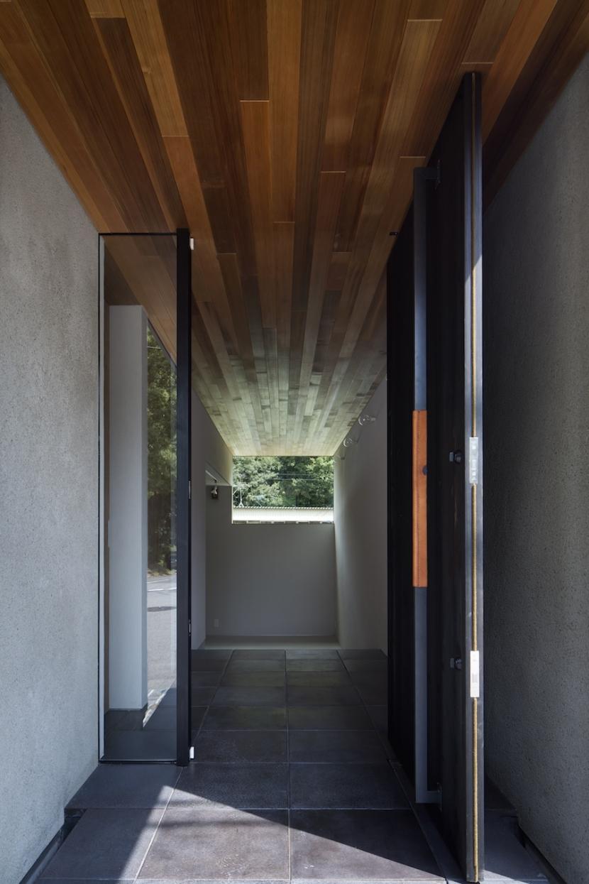 河内長野の家の部屋 玄関
