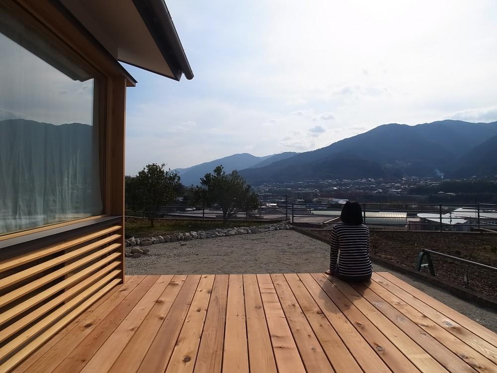 徳島の家 (ウッドデッキ)
