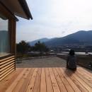 徳島の家の写真 ウッドデッキ
