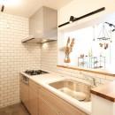温もり溢れるとんがりのお家の写真 キッチン