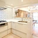 広々穏やかな空間の写真 キッチン