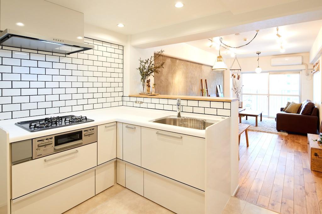 広々穏やかな空間 (キッチン)