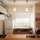 自分らしい自分だけの空間を手に入れるの写真 造作キッチン