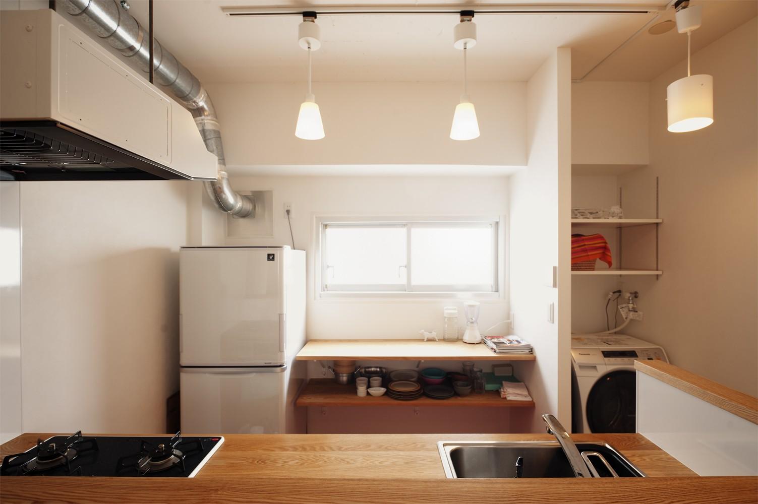 その他事例:造作キッチン(自分らしい自分だけの空間を手に入れる)