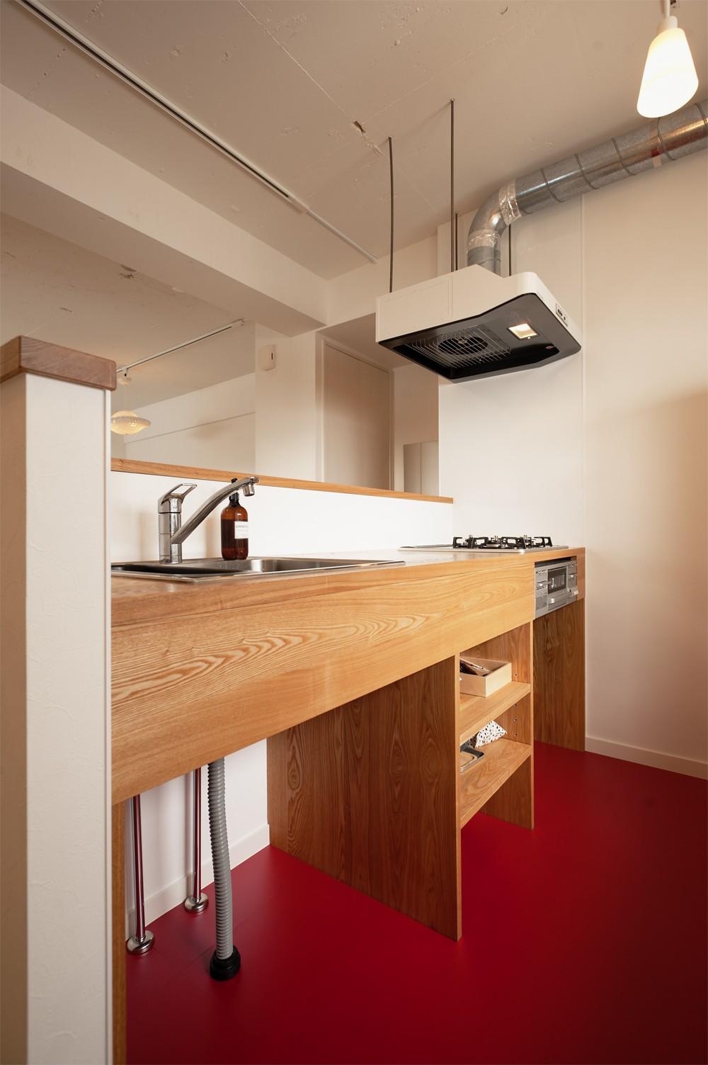 キッチン事例:造作キッチン(自分らしい自分だけの空間を手に入れる)