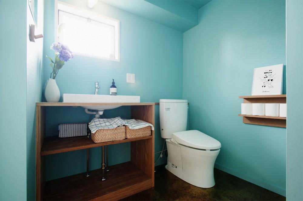 自分らしい自分だけの空間を手に入れる (洗面 トイレ)