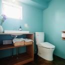 自分らしい自分だけの空間を手に入れるの写真 洗面 トイレ