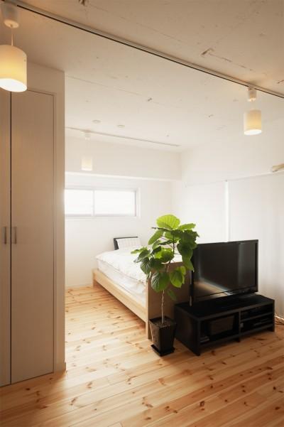 寝室 (自分らしい自分だけの空間を手に入れる)
