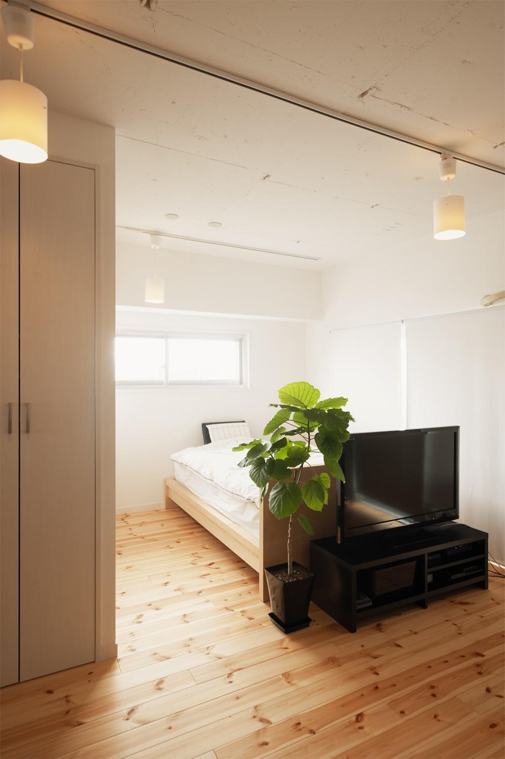ベッドルーム事例:寝室(自分らしい自分だけの空間を手に入れる)