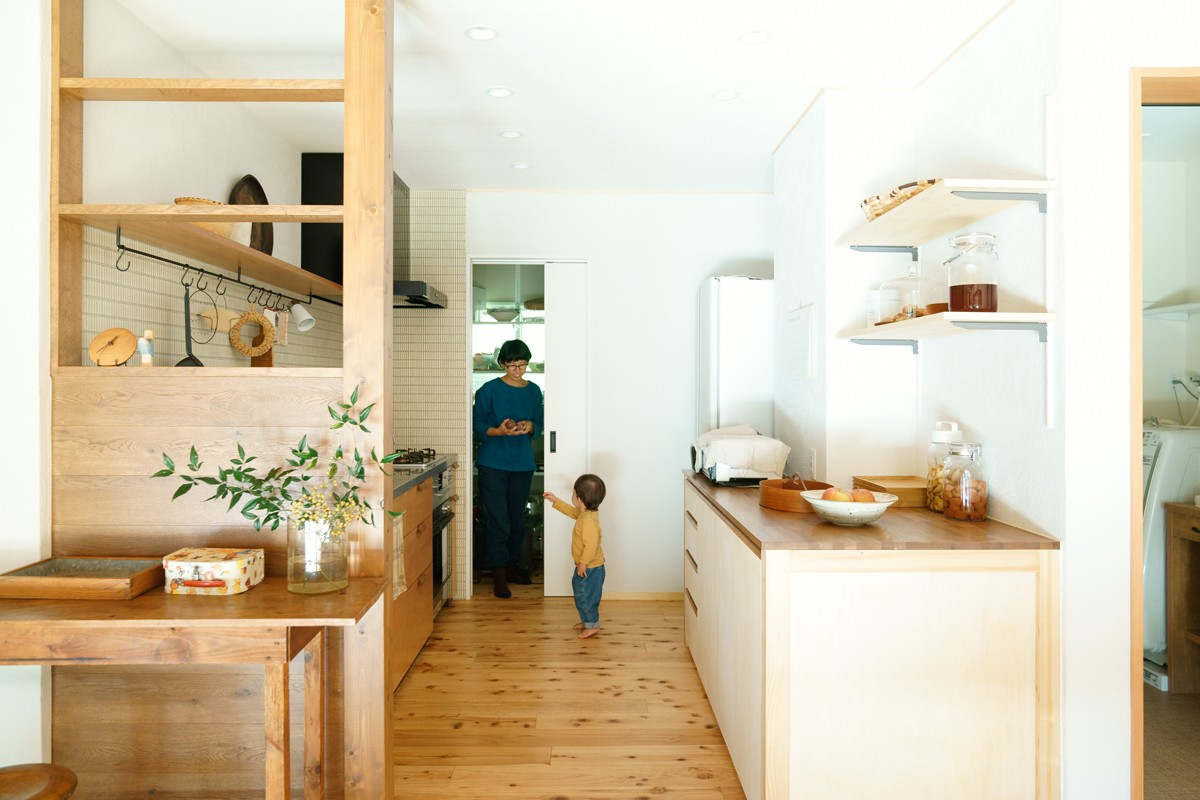 キッチン事例:キッチン(SOBA)