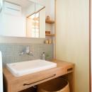 SOBAの写真 洗面室