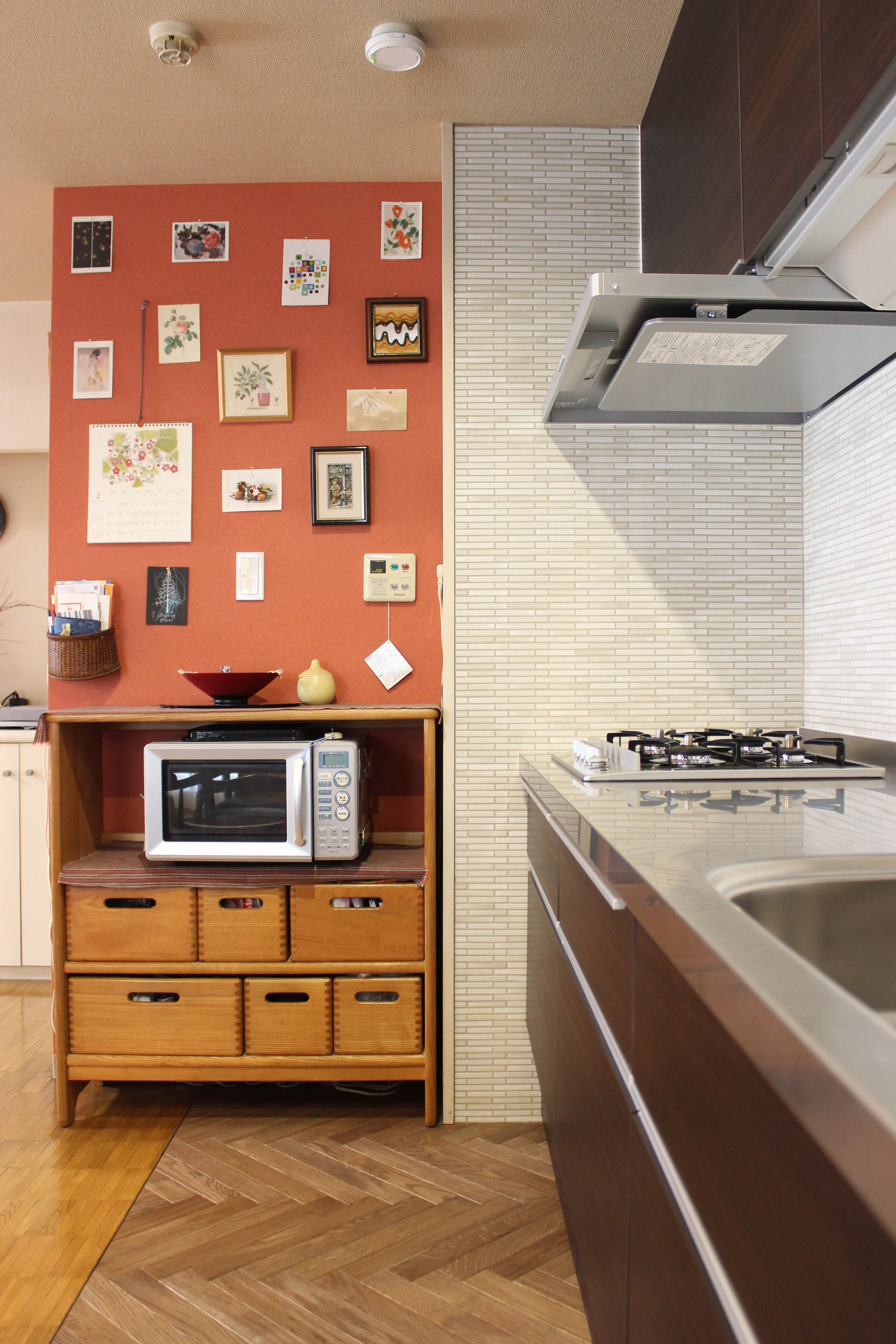 キッチン事例:キッチン(around the piping【水周りに絞ったリノベーション】)
