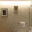 パスワークデザイン一級建築士事務所の住宅事例「around the piping【水周りに絞ったリノベーション】」