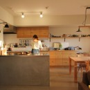 FIELDGARAGE Inc.の住宅事例「スモーキーな色使い(上井草マンションリノベーション)」
