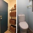 木と黒ないえの写真 トイレ