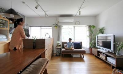 富士見台 団地リノベーション (LDK)
