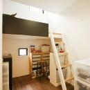 大収納狭小住宅 ハコノオウチ07の写真 子供室