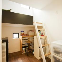大収納狭小住宅 ハコノオウチ07 (子供室)